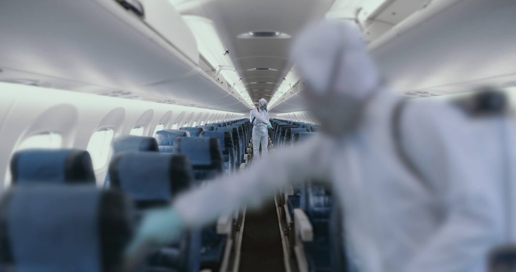 airplane-sanitizing