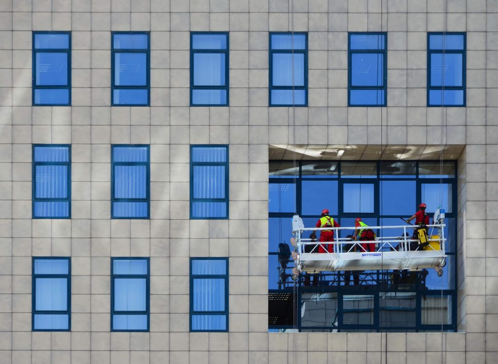 high-rise-window-washing-swing-stage