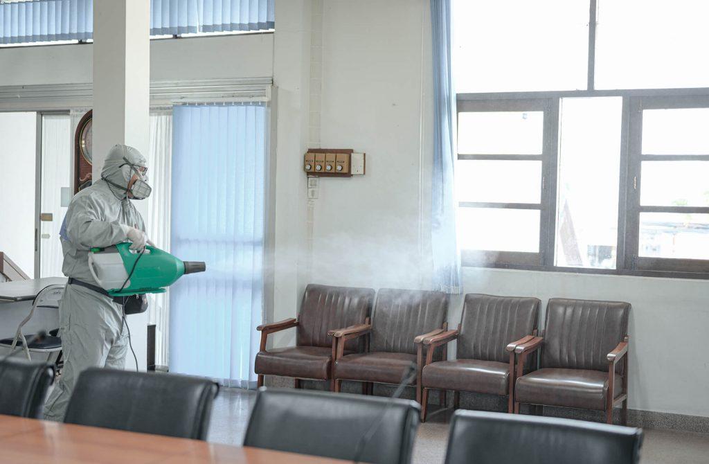 public-room-disinfection
